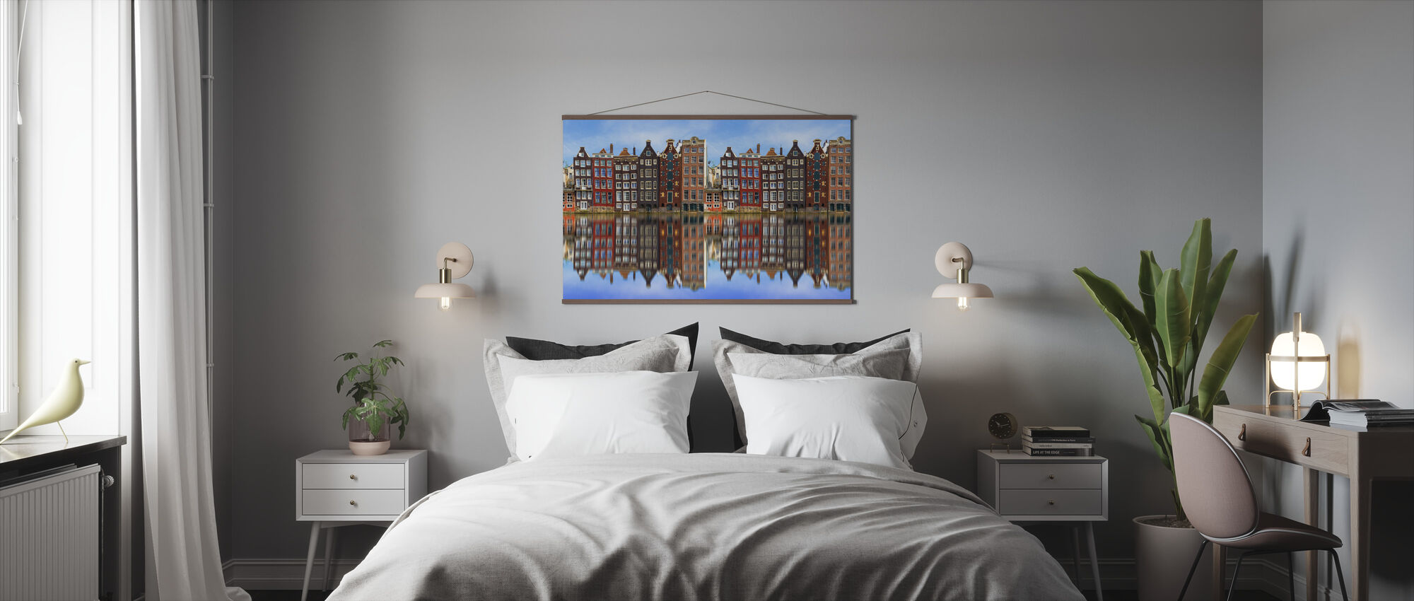 Old Amsterdam Houses - Poster - Bedroom