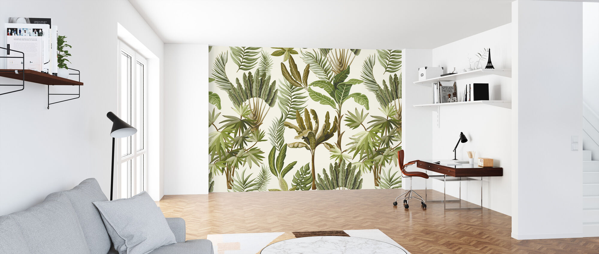 Exotic Trees - Wallpaper - Office