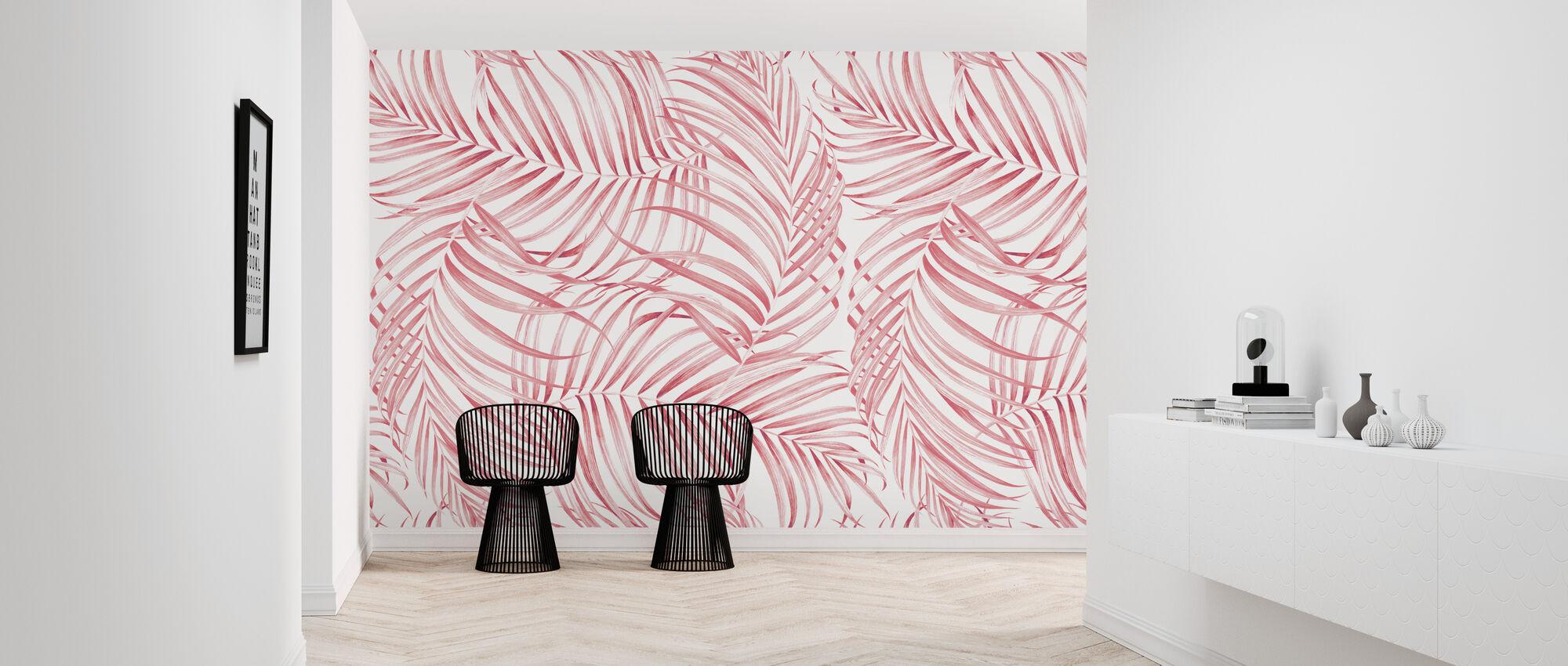Palm Branches - Wallpaper - Hallway