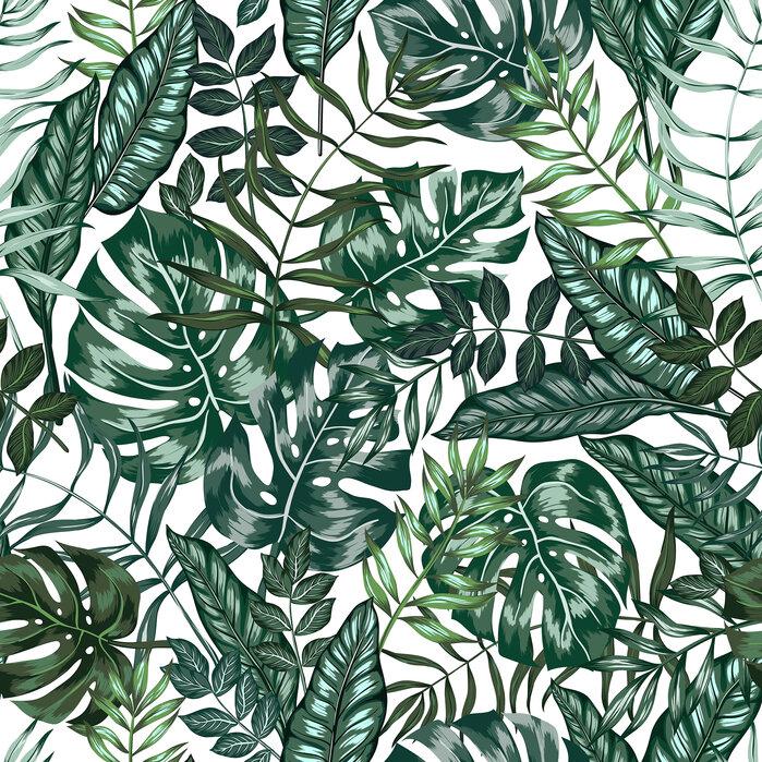 Tropical Nature Jungle - papier peint épuré de grande qualité avec livraison rapide - Photowall