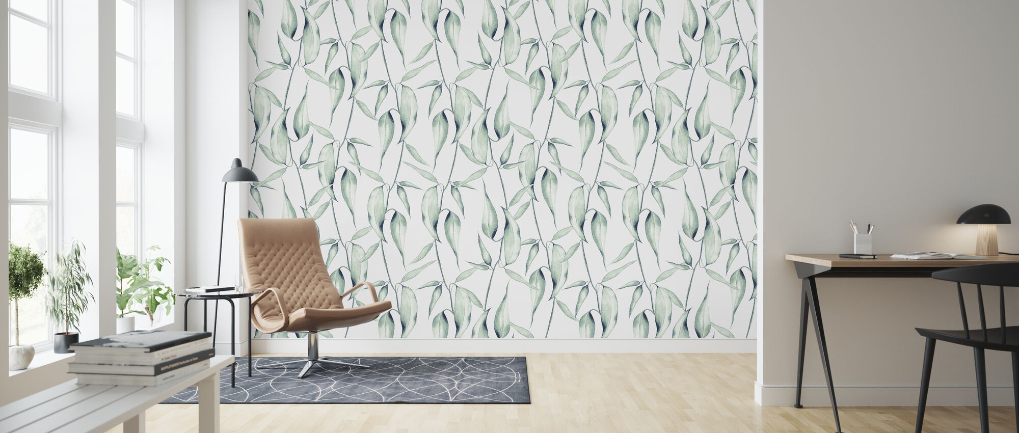 The Floral - Wallpaper - Living Room