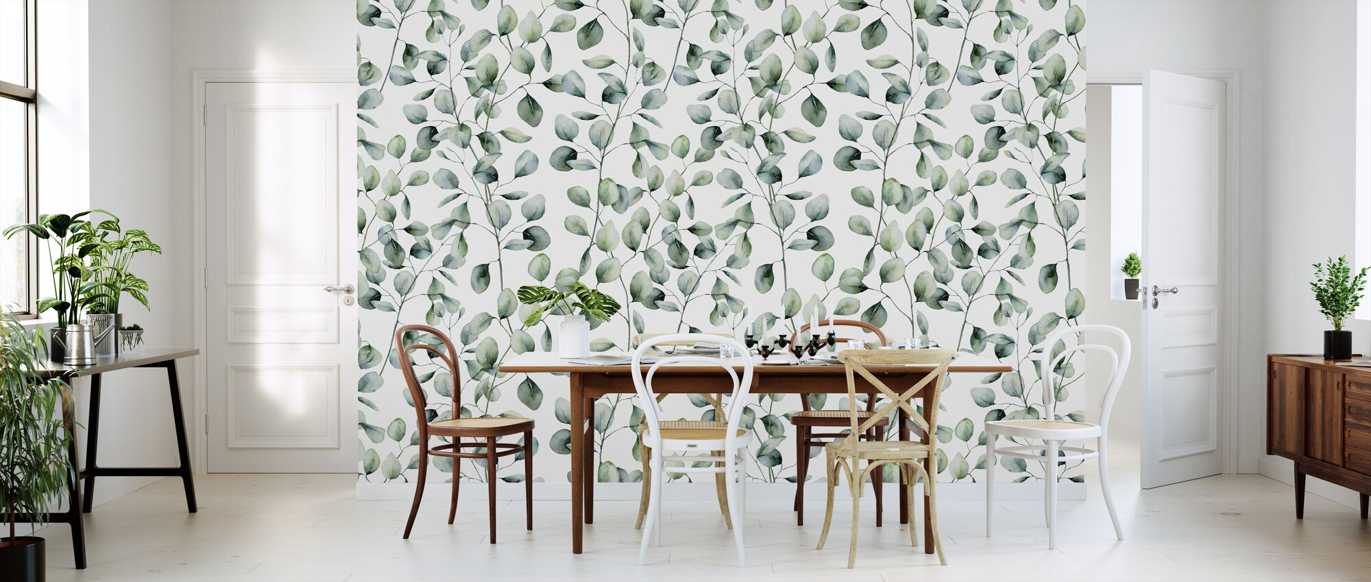 Eucalyptus - Wallpaper - Kitchen