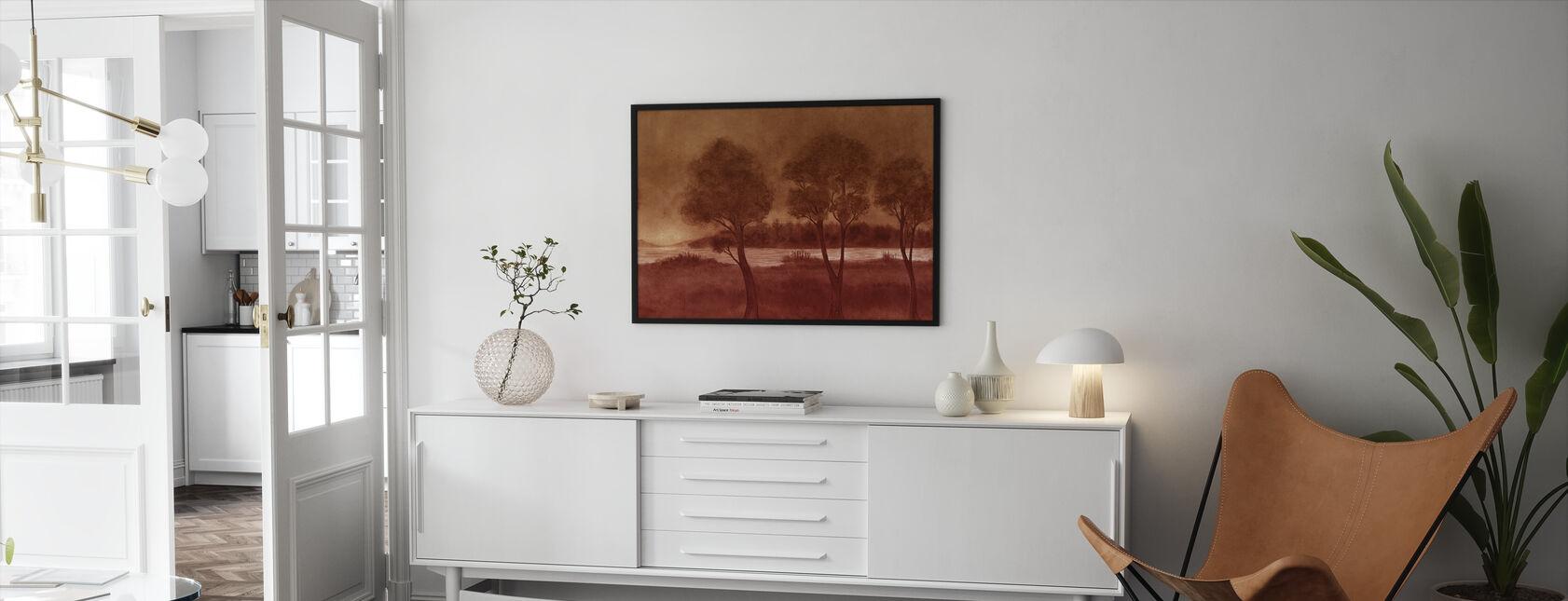 Bonny Scenery - Hazel - Framed print - Living Room