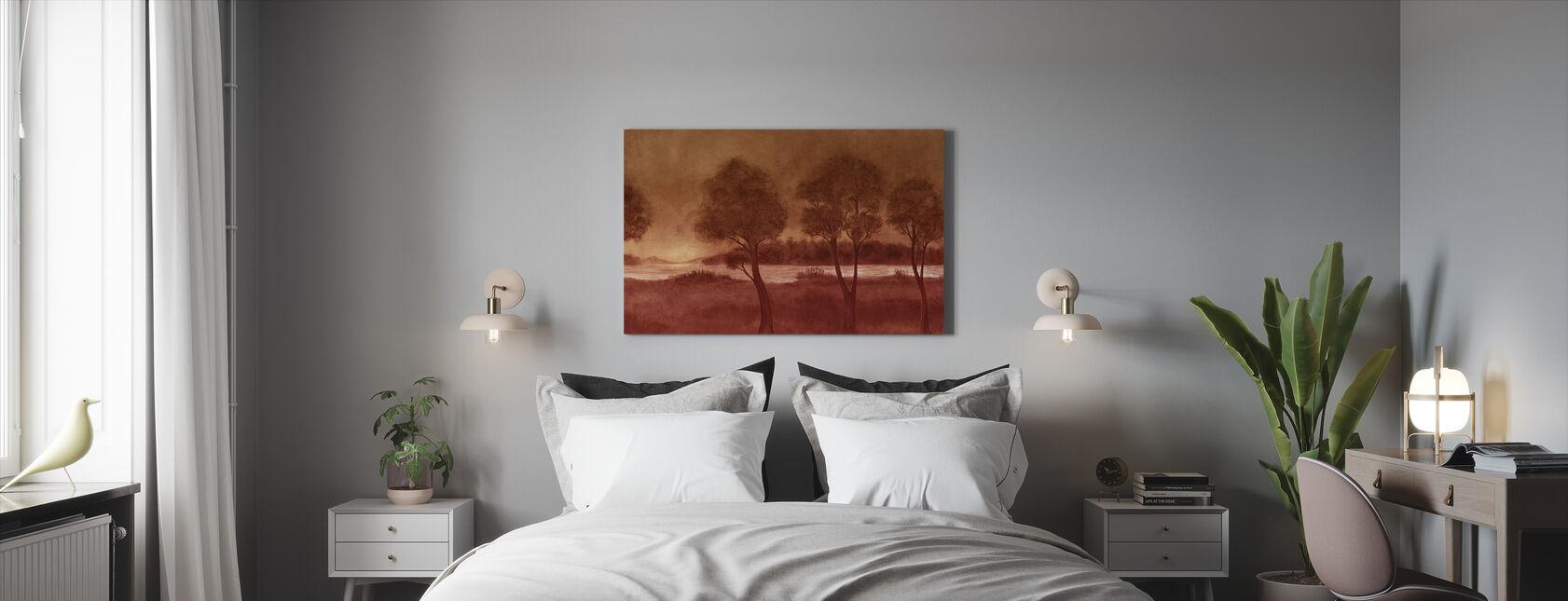 Bonny Landskaber - Hazel - Billede på lærred - Soveværelse