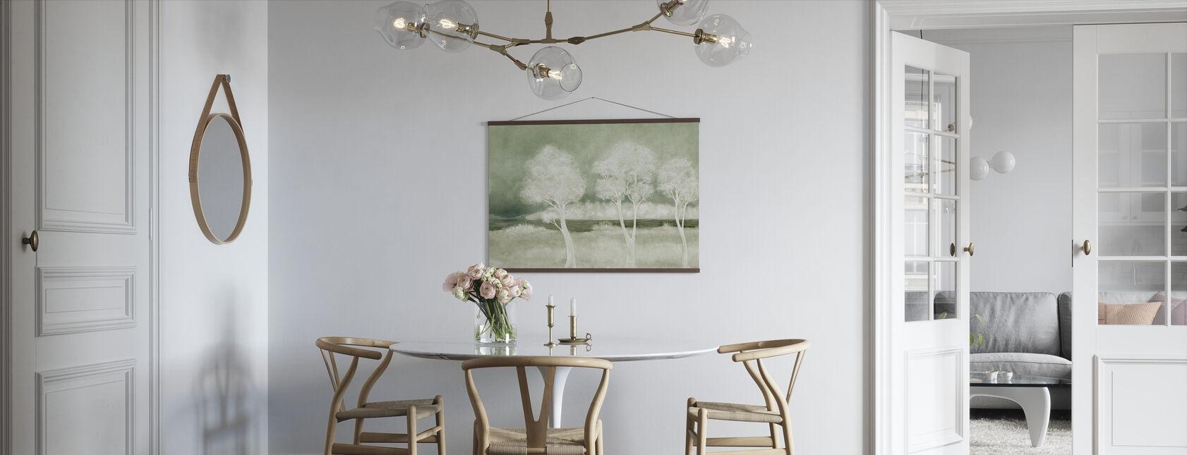 Bonny Landskaber - salvie - Plakat - Køkken