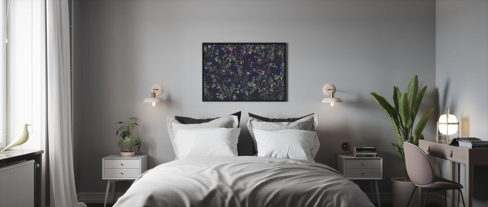 Magic Forest - Dark - Framed print - Bedroom