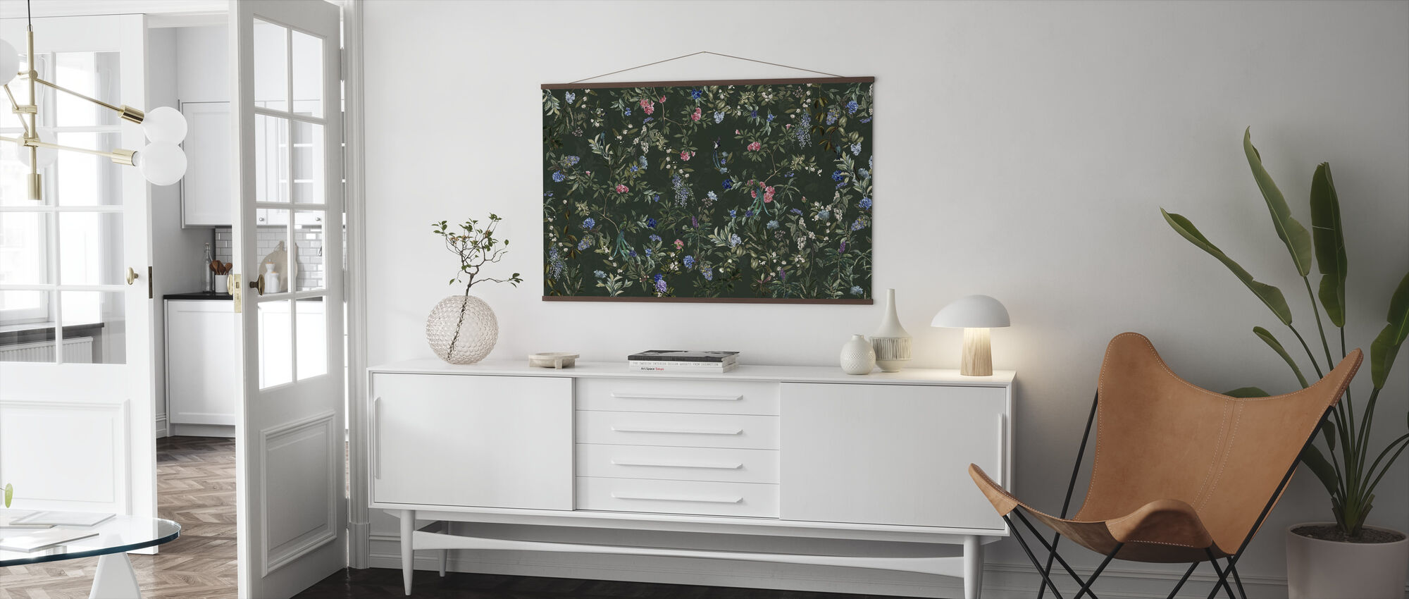 Magic Forest - Green - Poster - Living Room