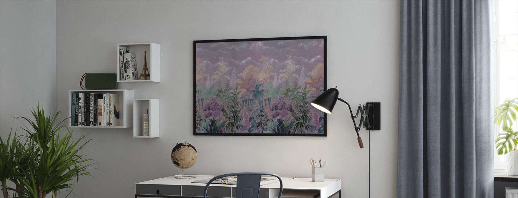 Flourishing Vegetation - Framed print - Office