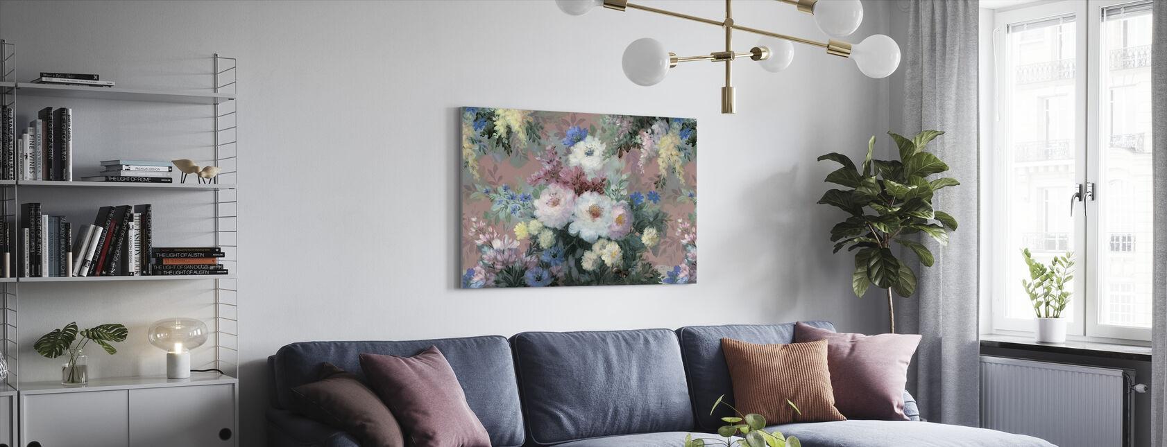 Flourishing Blossom - Canvas print - Living Room