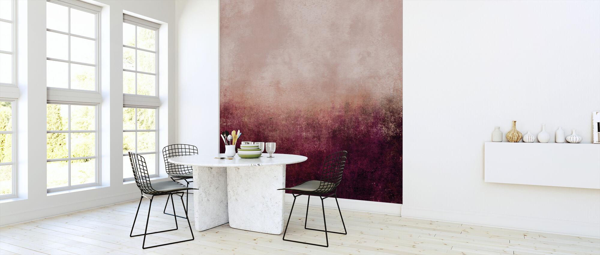 Leven In Roze - Behang - Keuken