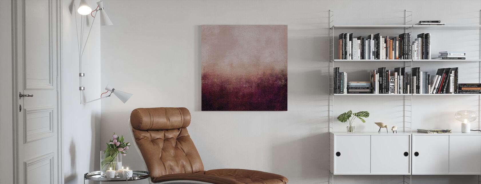 La vida en rosa - Lienzo - Salón