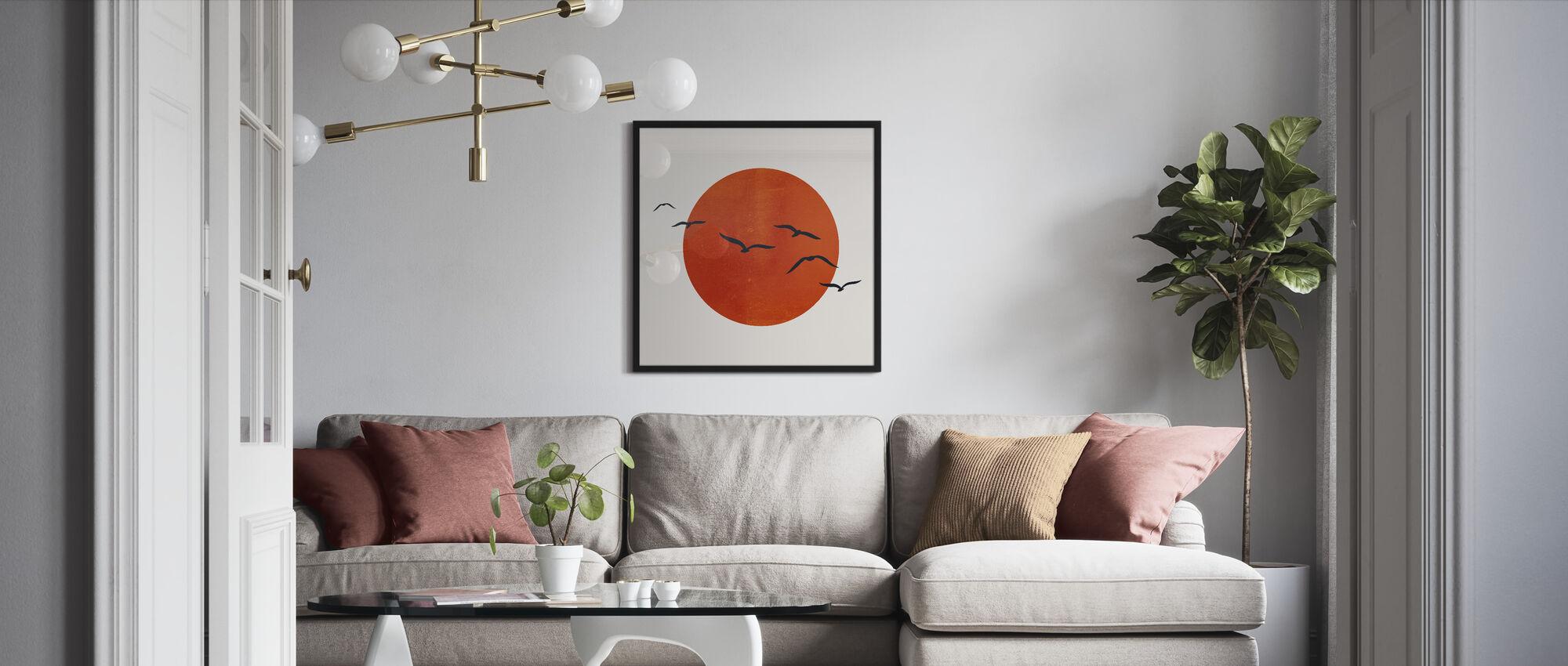 Up in the Sky - Framed print - Living Room