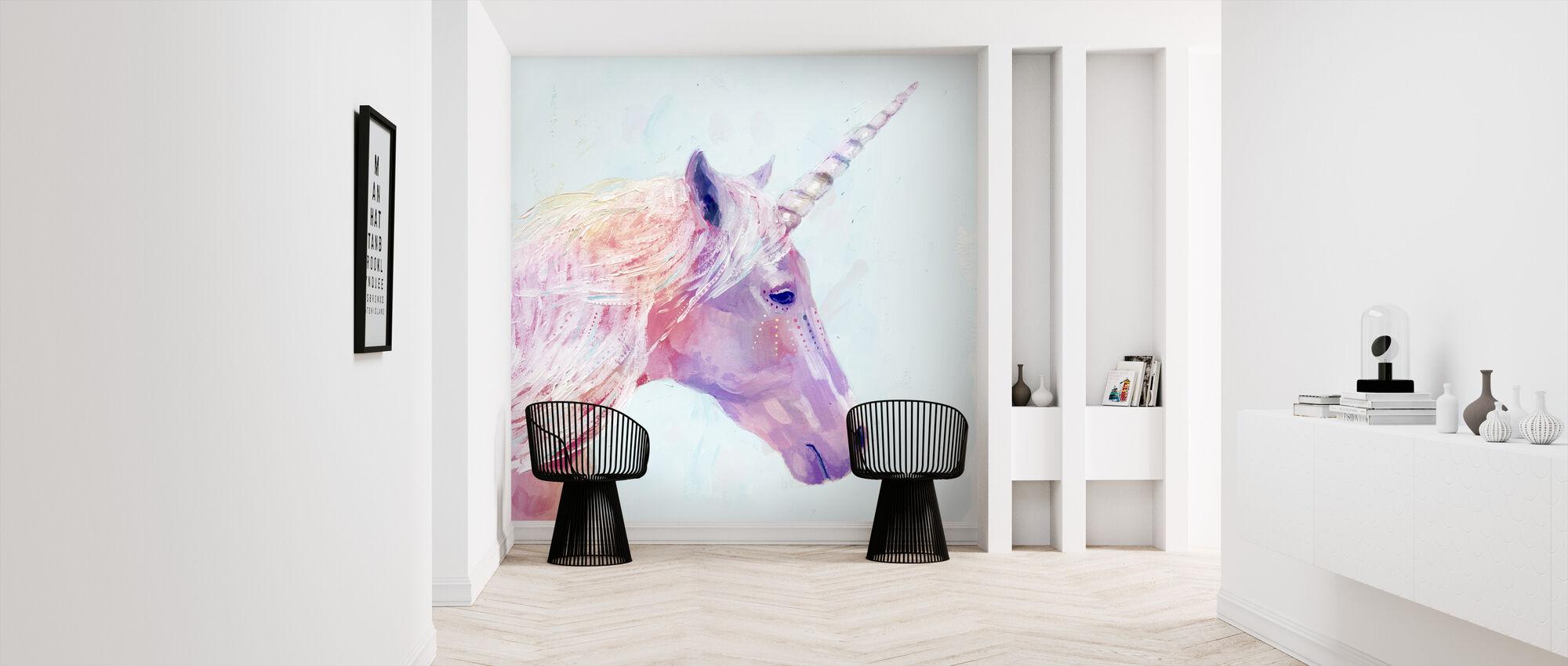 Mystic Unicorn - Wallpaper - Hallway