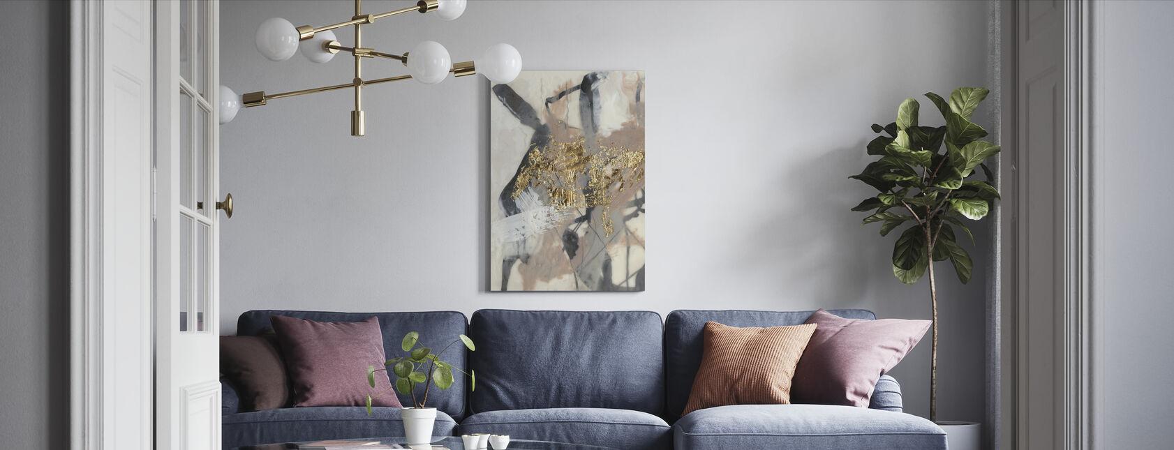 Golden Blush - Canvas print - Living Room
