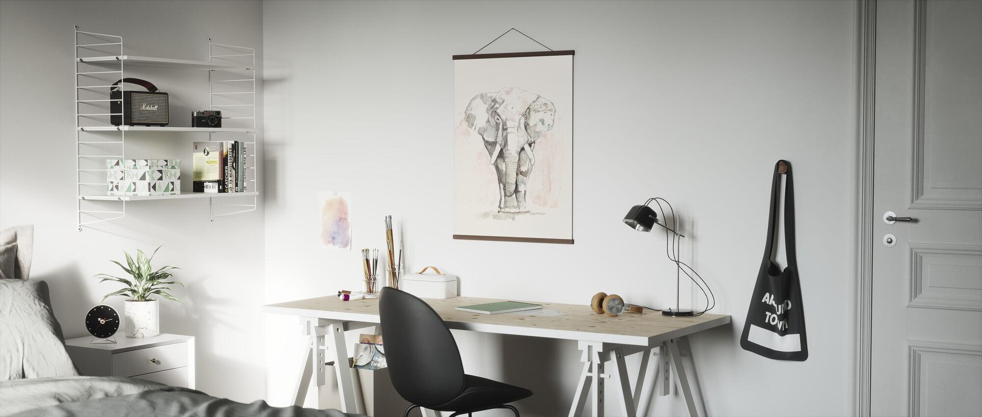 Pastel Safari - Poster - Office