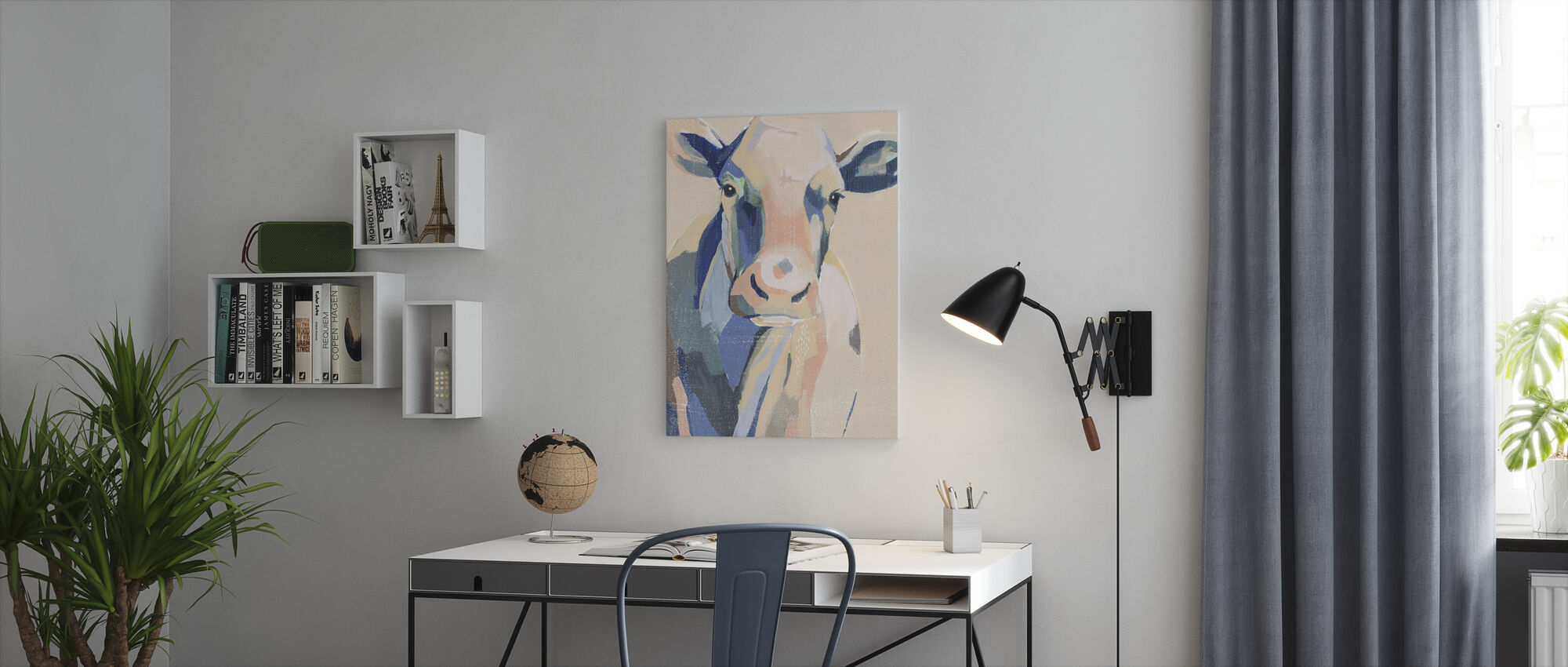 Hertford Holstein - Canvastavla - Kontor