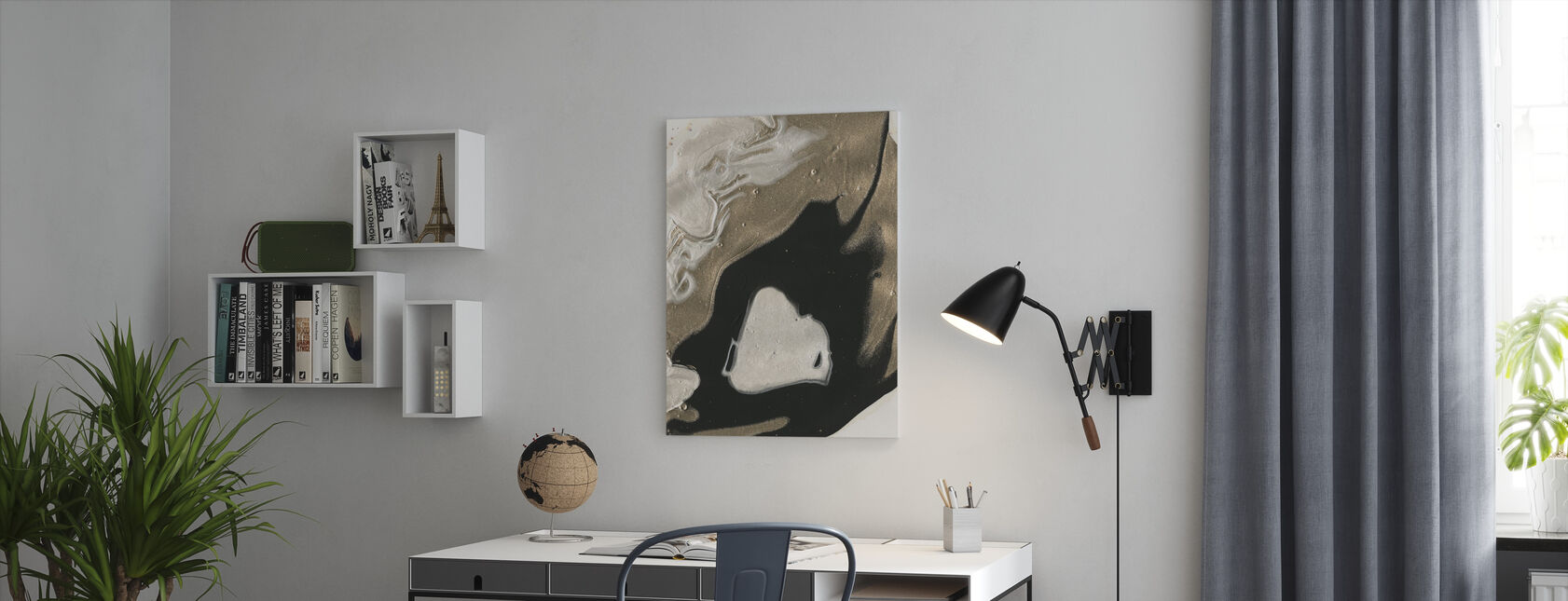 Will o the Wisp - Canvas print - Office