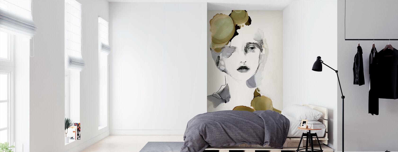 Organic Portrait - Wallpaper - Bedroom