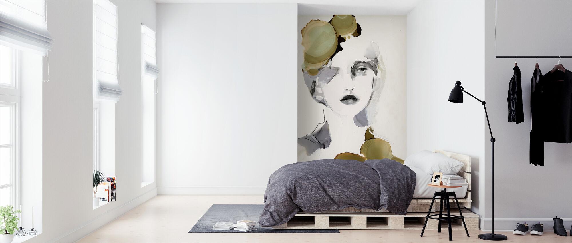 Organiskt porträtt - Tapet - Sovrum
