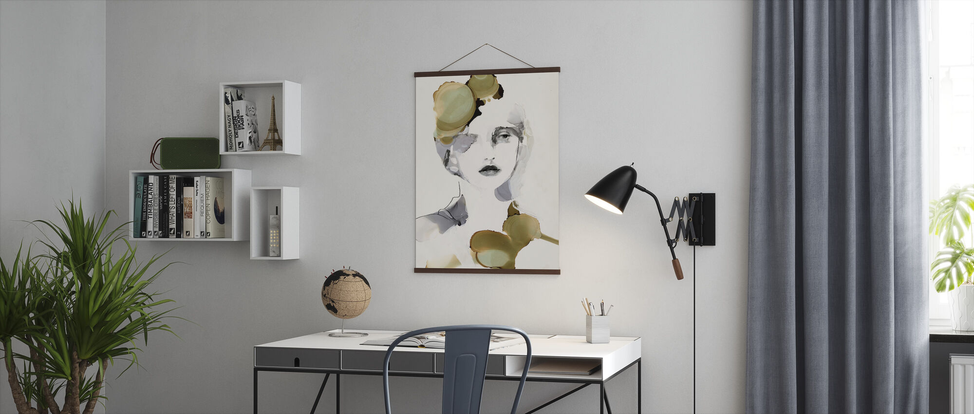 Organic Portrait - Poster - Office