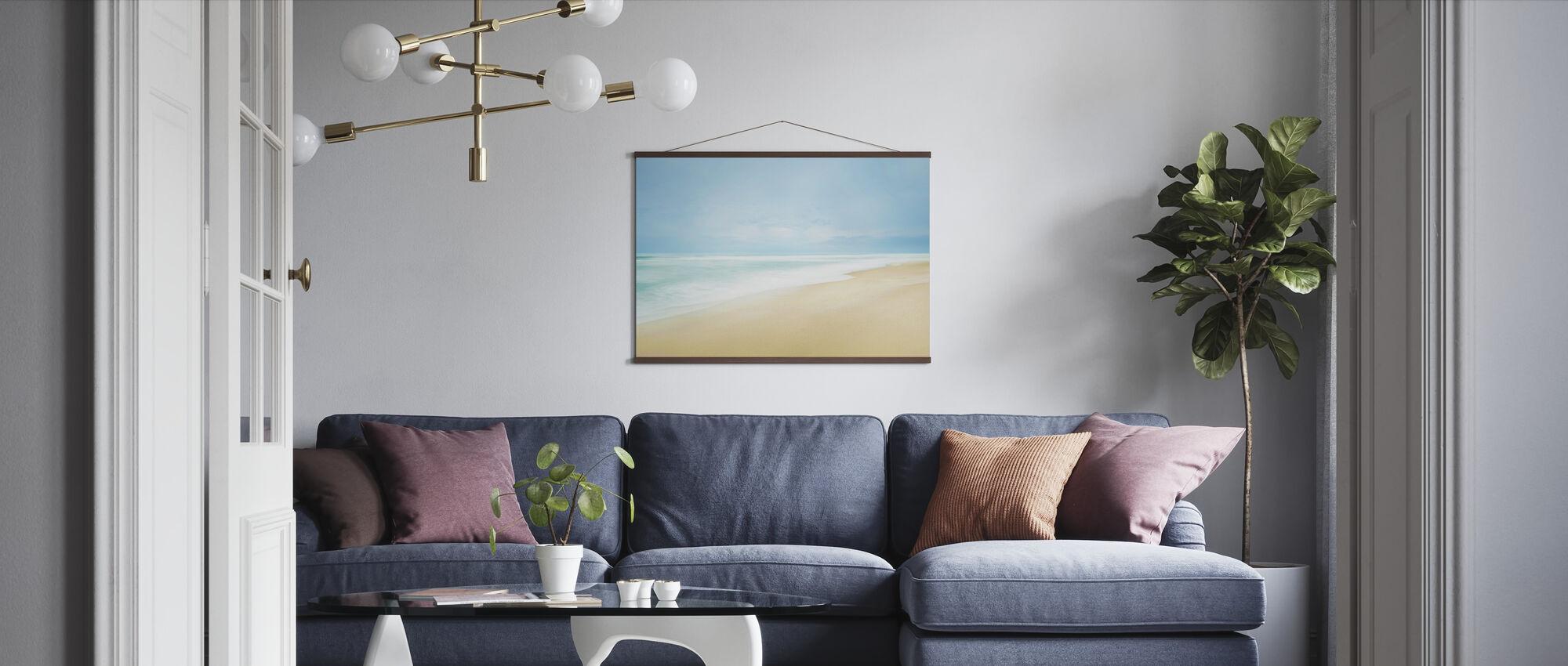 Strandlandskap Bilde - Plakat - Stue