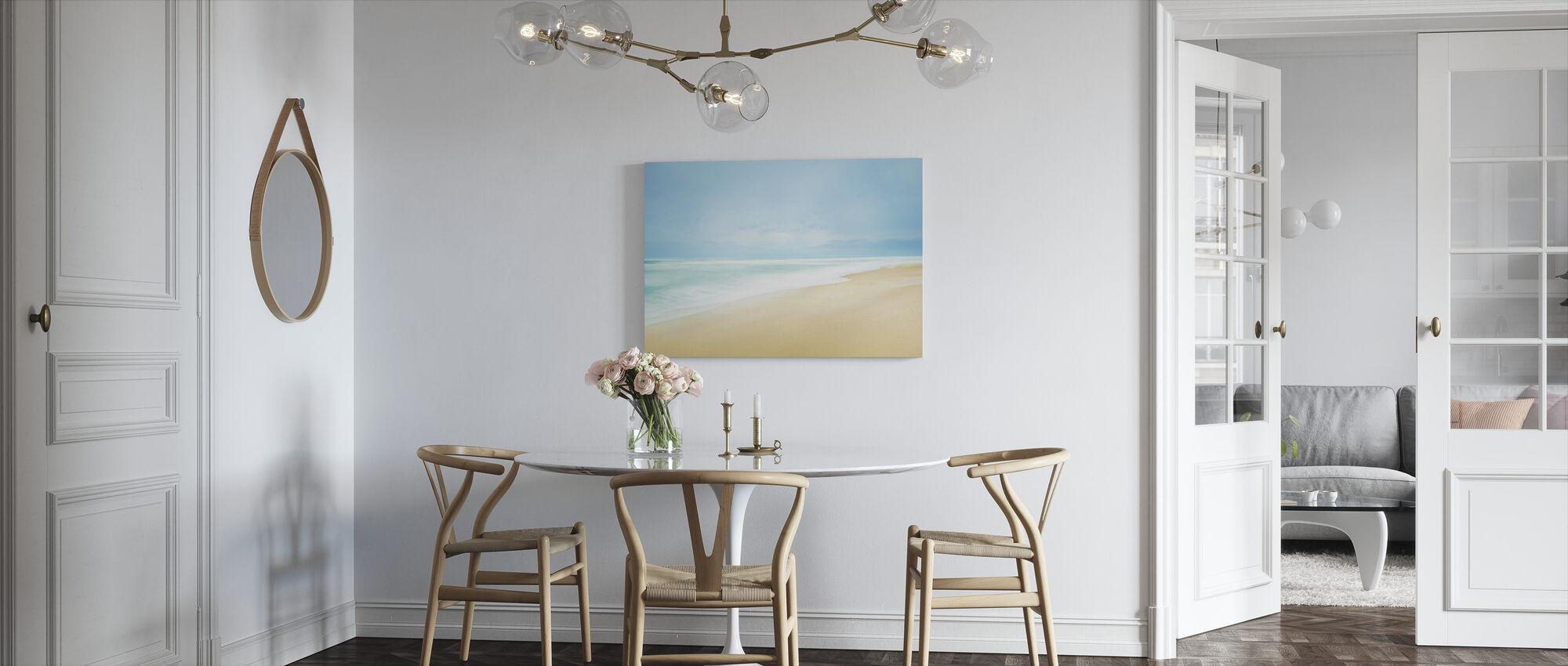 Beachscape kuva - Canvastaulu - Keittiö