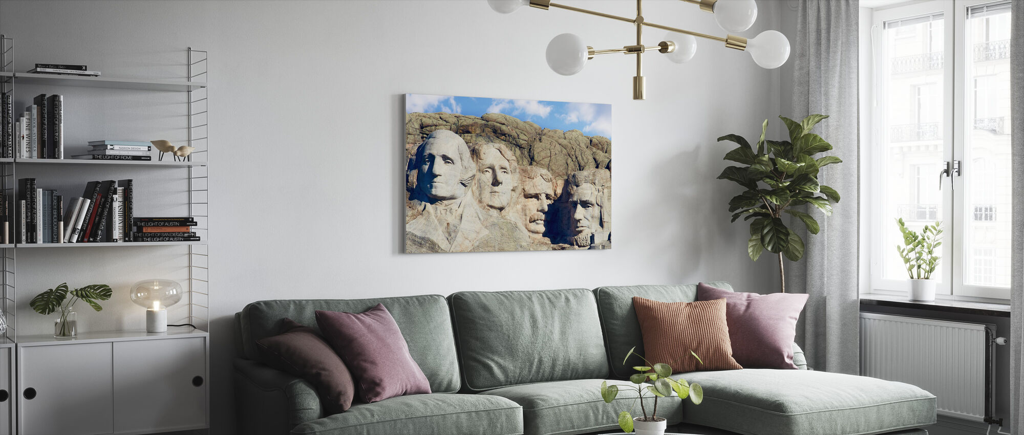 Badlands - Canvas print - Living Room
