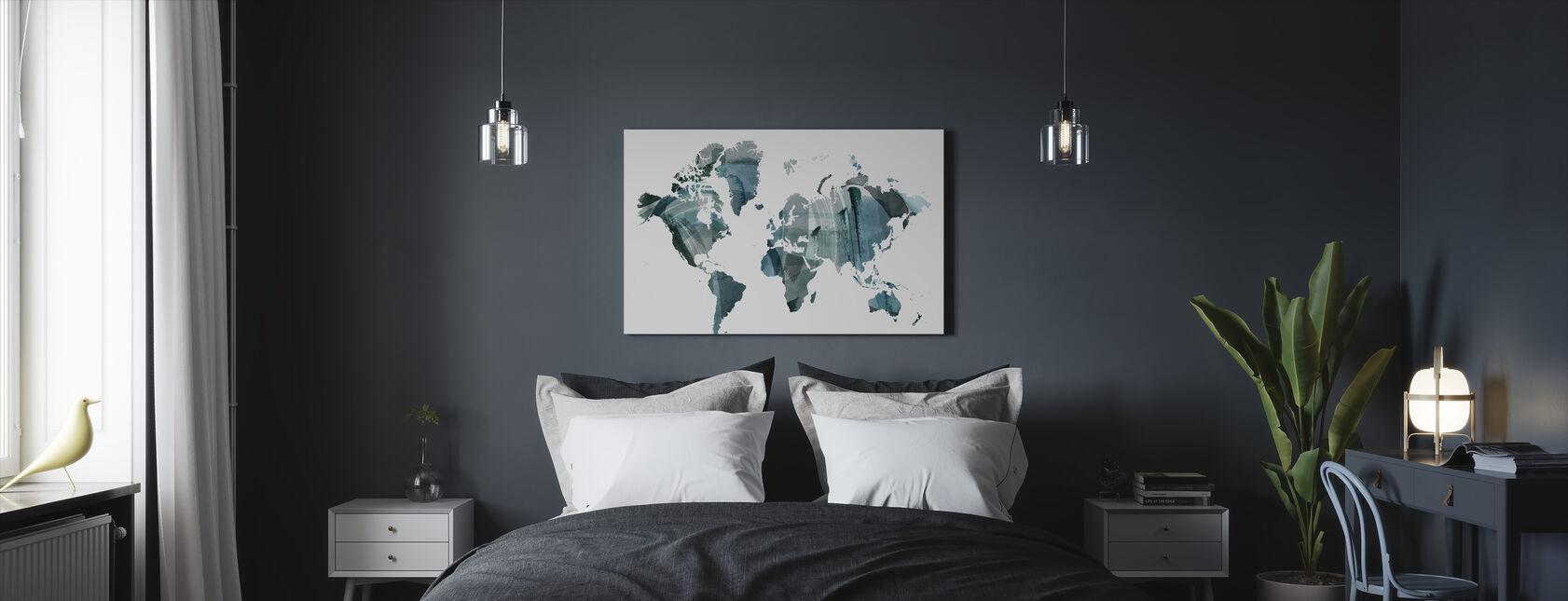 Wash Mundial - Lienzo - Dormitorio