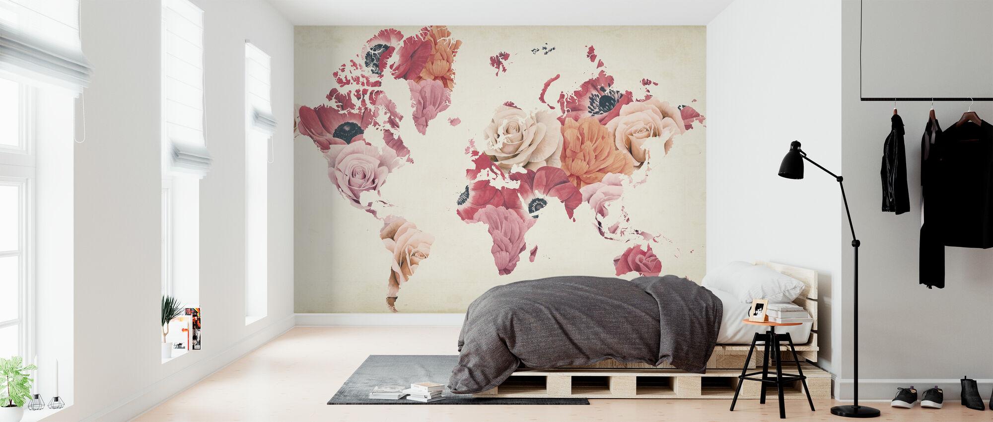 Earth Laughs in Flowers - Wallpaper - Bedroom