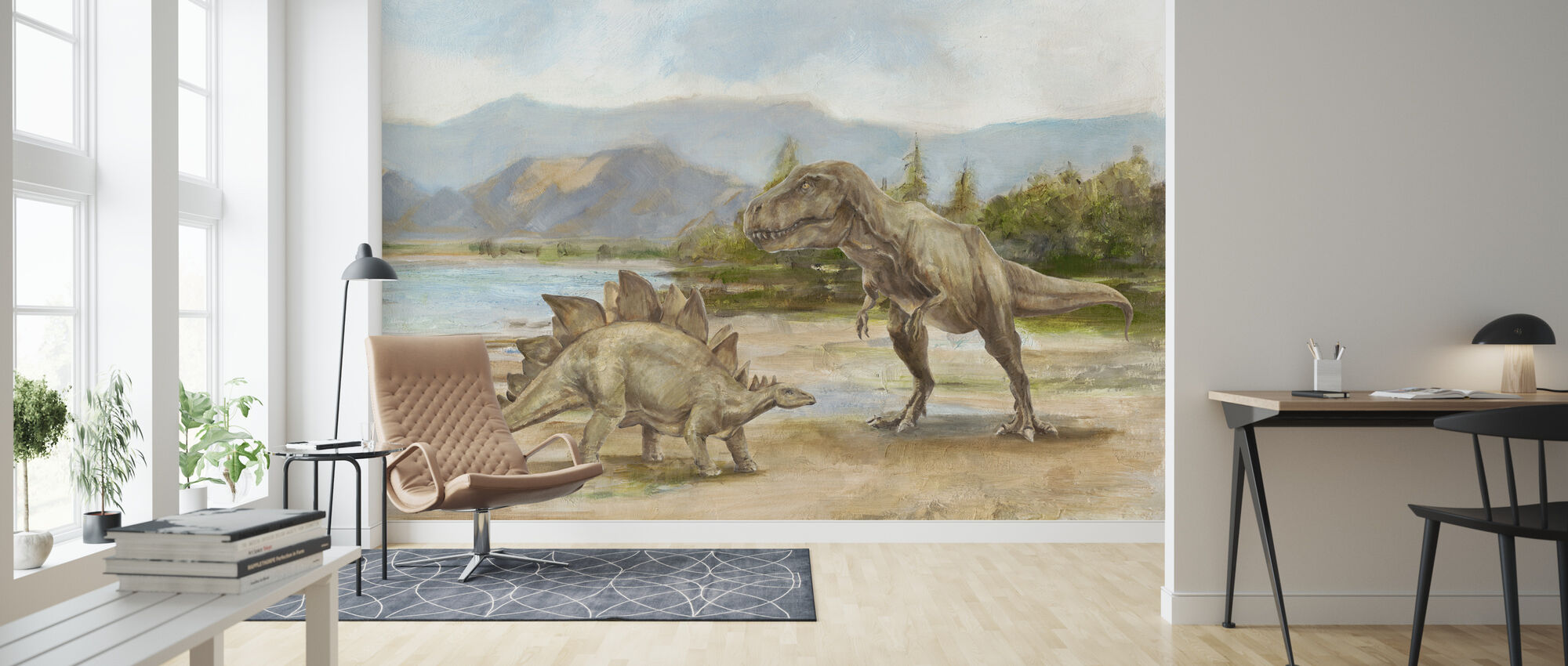 Dinosaurie - Tapet - Vardagsrum