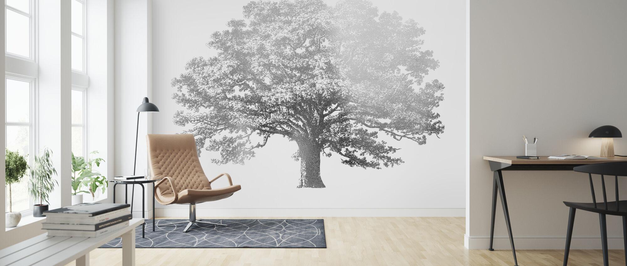 Elephant Tree - Wallpaper - Living Room