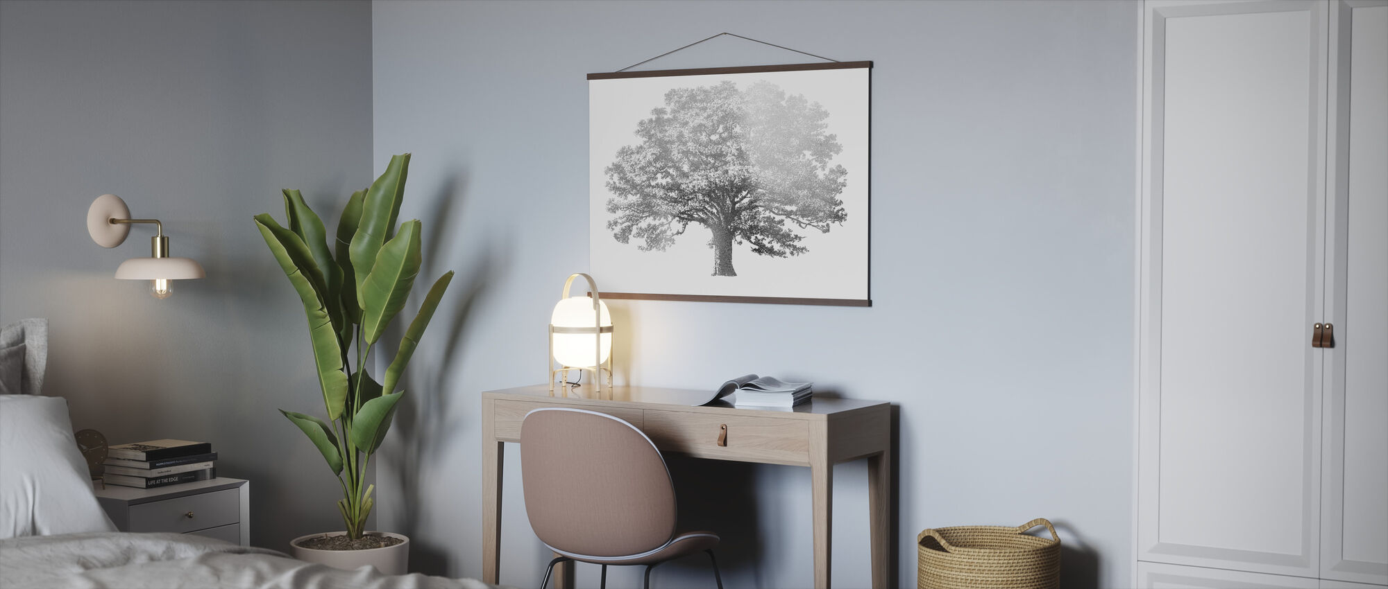 Elephant Tree - Poster - Office