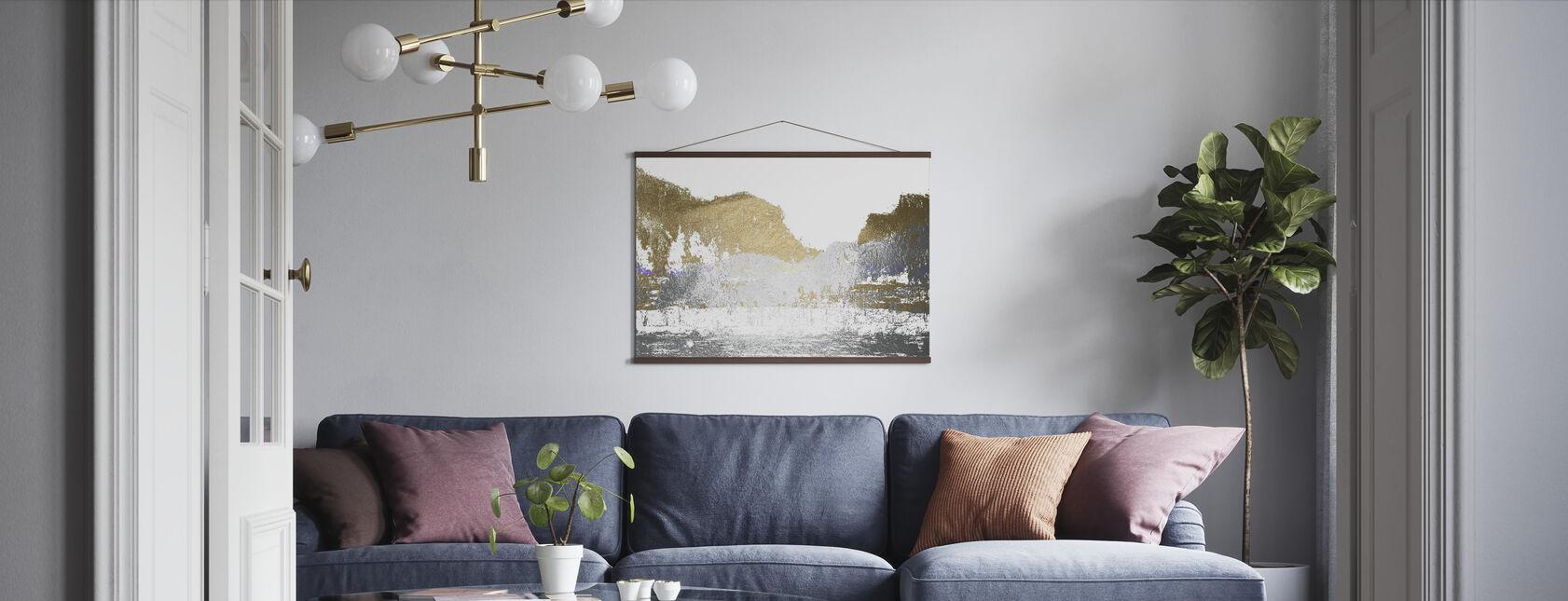 Multi Foil Mountain - Poster - Living Room