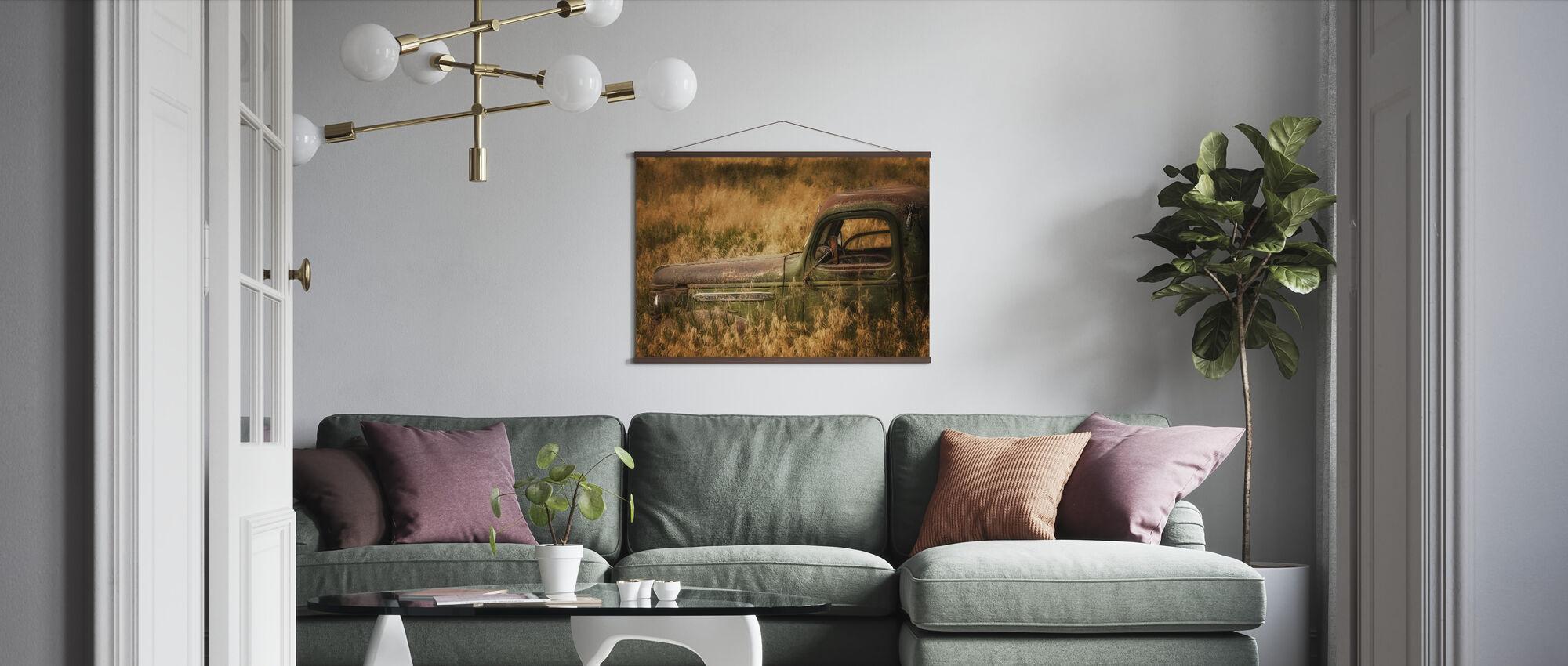 Farm Field - Poster - Living Room