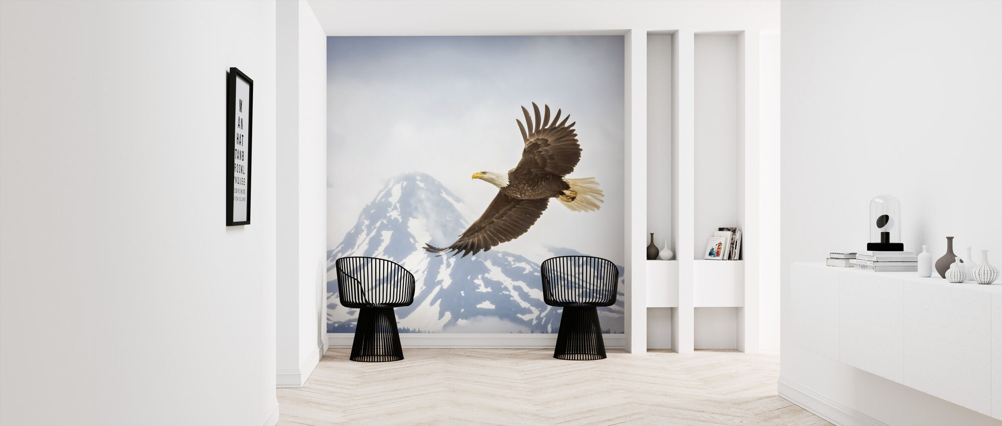 Majestic Eagle - Wallpaper - Hallway