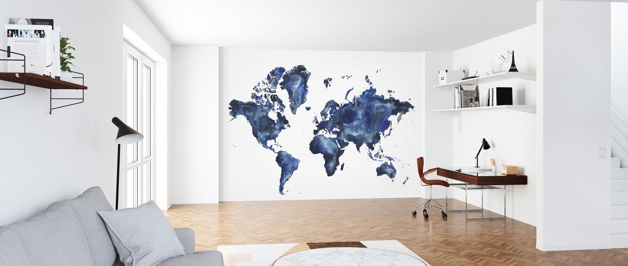 Vatten Världen - Tapet - Kontor