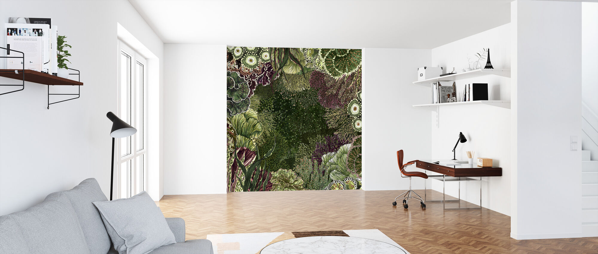 Marine Moss - Wallpaper - Office