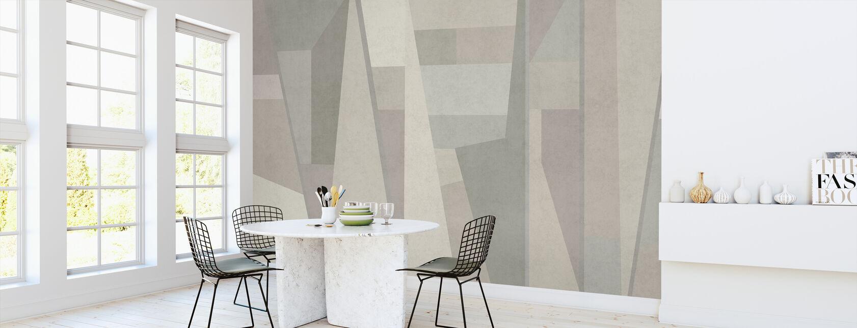 Samba Geométrica - Papel pintado - Cocina
