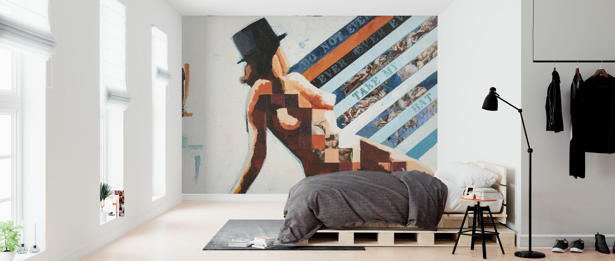 Hat - Wallpaper - Bedroom