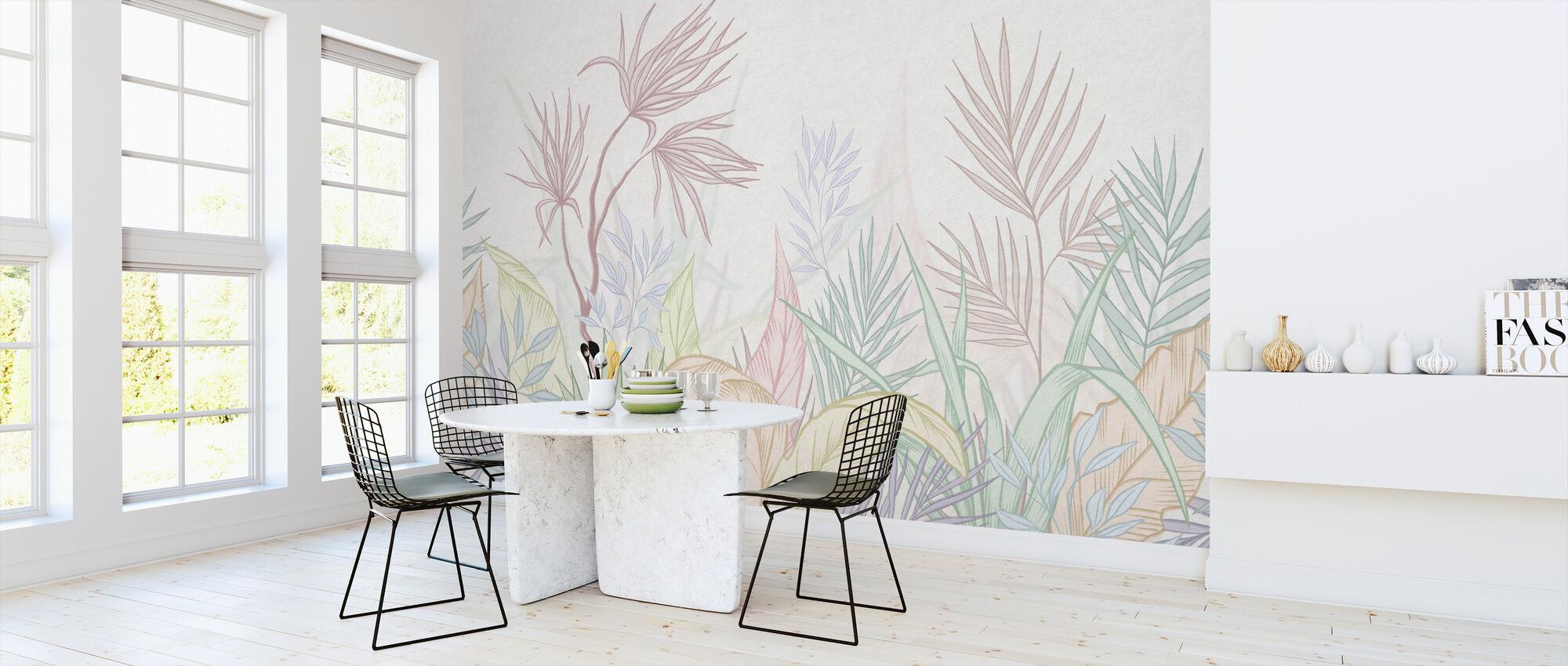 Bare Tropical - Färgglada - Tapet - Kök