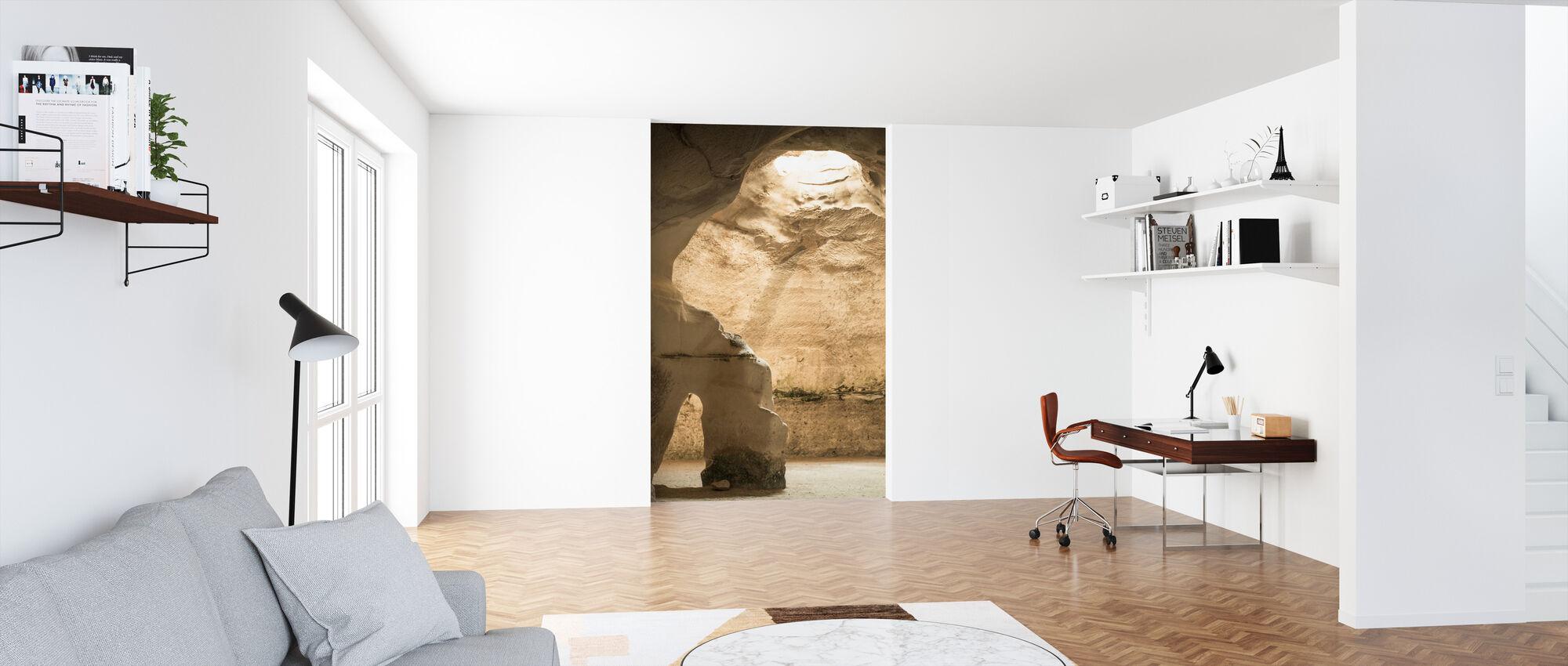 Cave Light - Wallpaper - Office