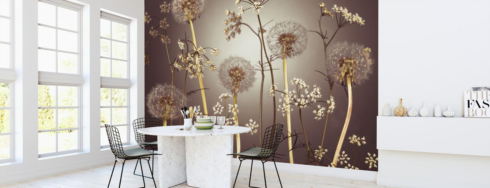 Eng Blomster - Hazel - Tapet - Kjøkken
