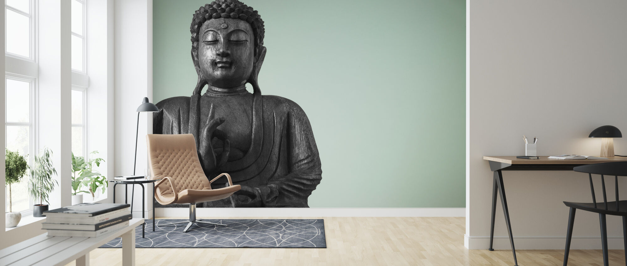 Buddha - Wallpaper - Living Room