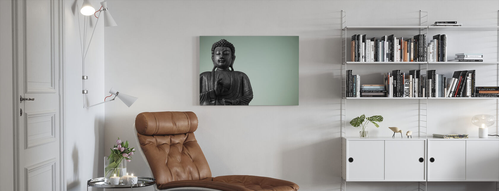 Buddha - Canvastaulu - Olohuone