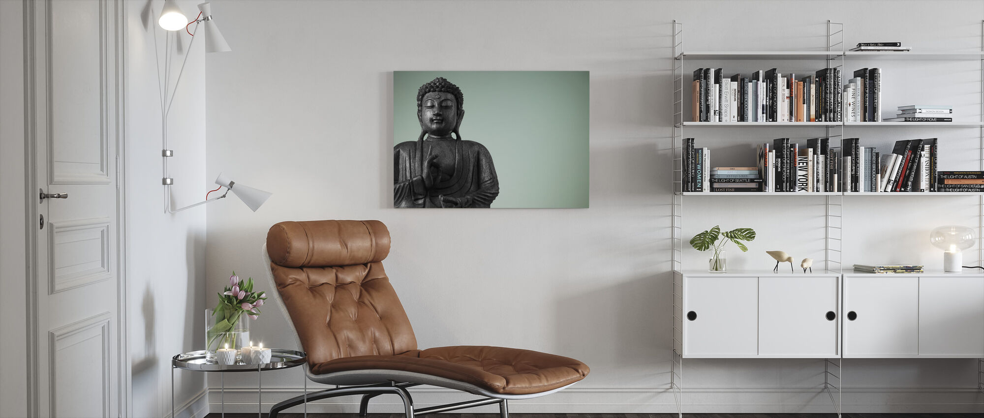Buddha - Canvas print - Living Room