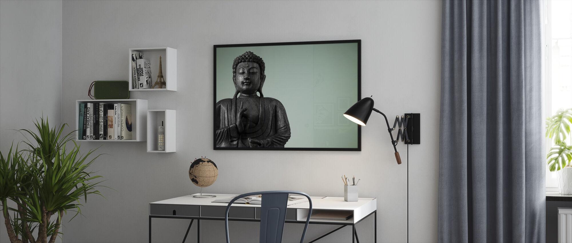 Buddha - Framed print - Office