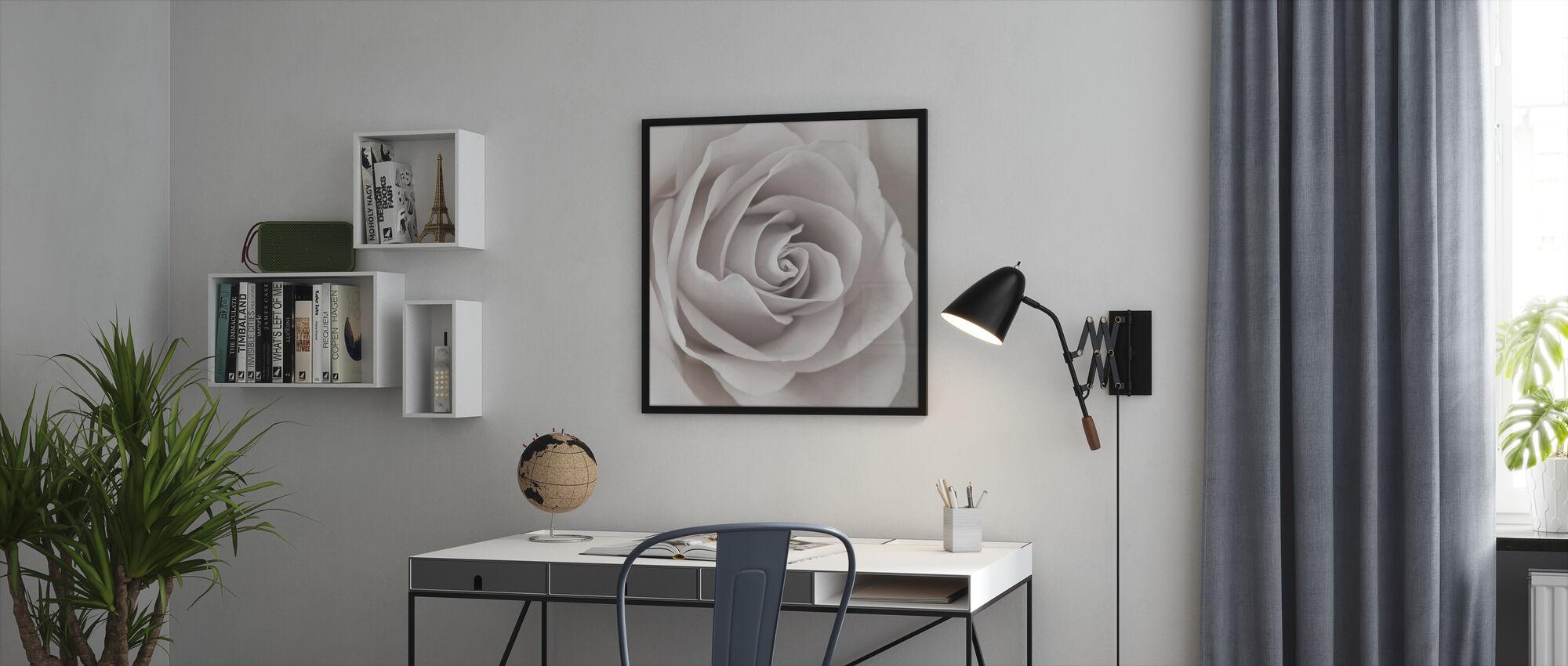 Rose - Framed print - Office