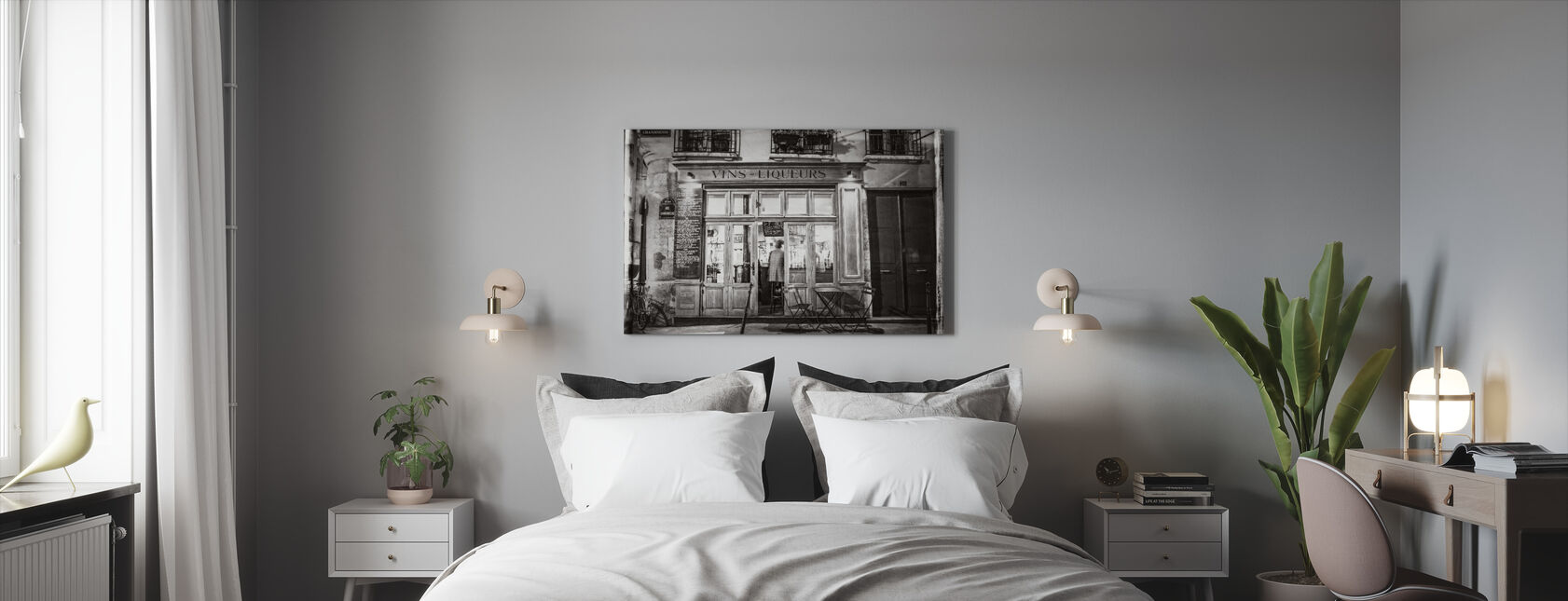 Liquor Store - Paris - Canvas print - Bedroom