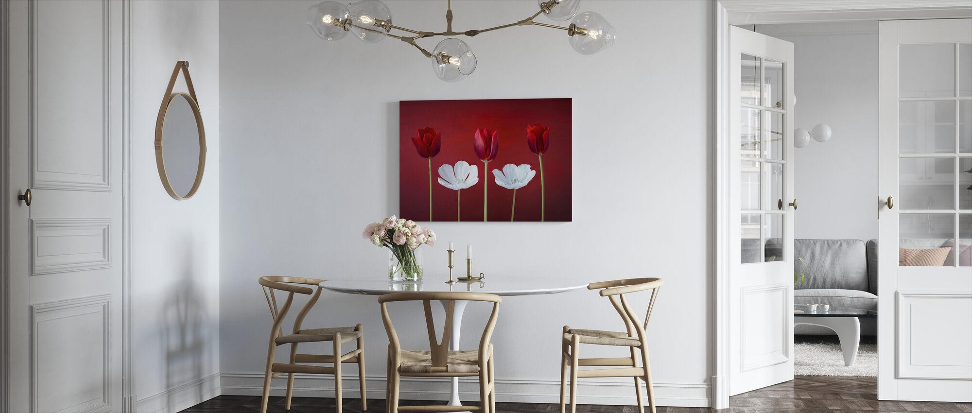 Tulips Arrangement - Canvas print - Kitchen