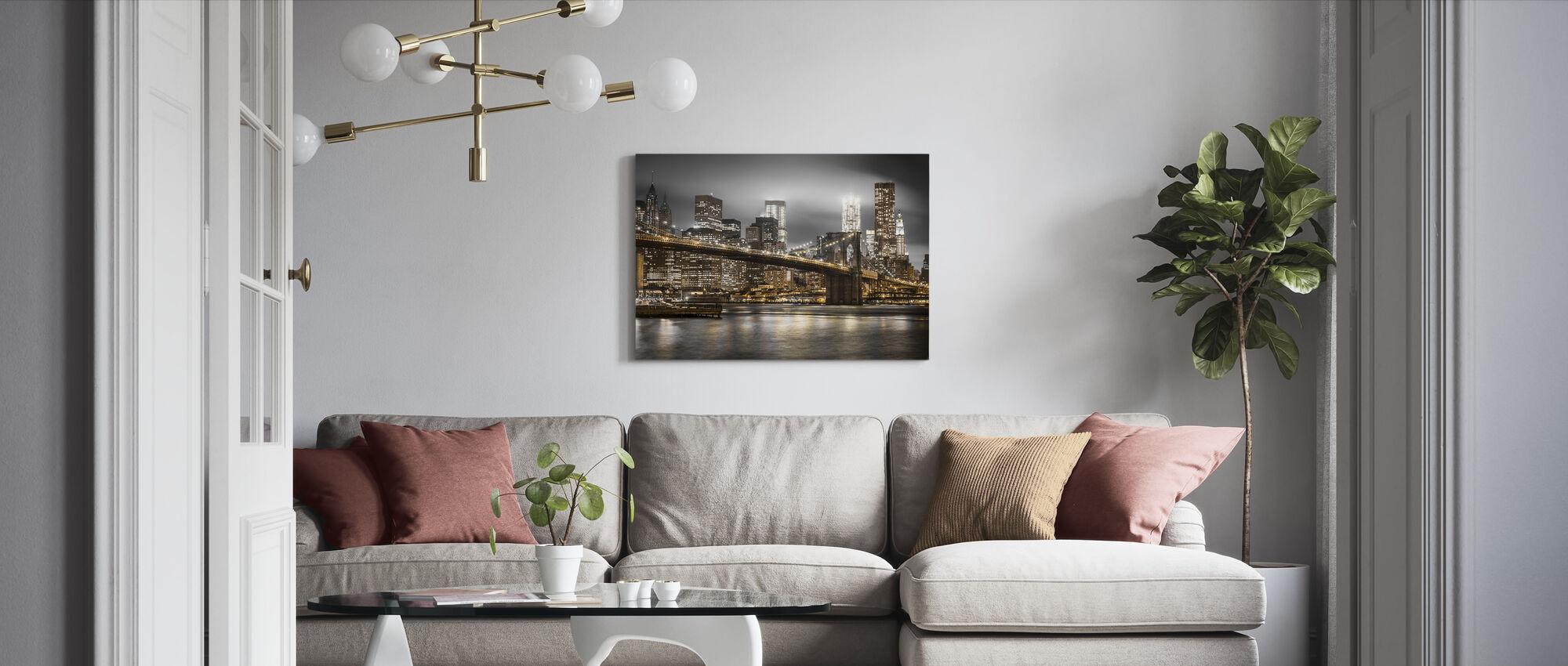 New York - Canvastavla - Vardagsrum